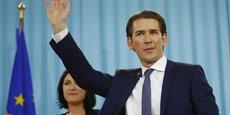 Le parti ÖVP dirigé par le ministre des Affaires étrangères, Sebastian Kurz, 31 ans, aurait recueilli 31,6% des suffrages après une campagne centrée sur la lutte contre l'immigration.