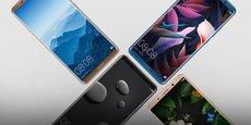 Le Mate 10 de Huawei sera commercialisé dans une quinzaine de pays à la fin du mois d'octobre, au prix de 699 euros.