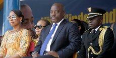 Joseph Kabila, président de la République démocratique du Congo, lors de la célébration de la fête de l'indépendance le 30 juin 2016.