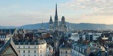 Rouen, petite ville centre d'une métropole