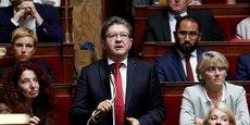 A l'Assemblée nationale dans la nuit de mercredi à jeudi 19 octobre, les visions divergentes de l'Union européenne ont provoqué une poussée de tension, la gauche de la gauche a notamment critiqué mercredi une trajectoire suivant une logique d'austérité, Mélenchon ironisant au passage sur la théorie du ruissellement.