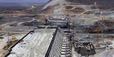 Les travaux du grand Barrage de la Renaissance ont démarré en mai 2013 et devraient s'achever l'année prochaine.