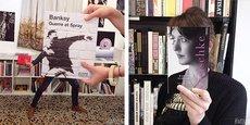 Deux exemples des bookfaces réalisés par les équipes de Mollat