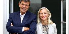 Gonzague de Blignières, après 30 ans de carrière dans le private equity, et Clara Gaymard, ex présidente de GE France, ont fondé fin 2013 Raise, une société d'investissement atypique.