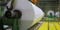À l'ancienne usine de Docelles, les cylindres de ce type sont désormais endommagés et inutilisables.