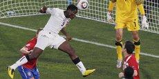Les airs et les affaires, nouveau terrain de jeu de l'international ghanéen Asamoah Gyan.