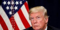 Alors candidat, il y a plus d'un an désormais, Donald Trump répétait à l'envi son slogan America First, l'Amérique d'abord.
