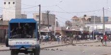 Affrontements entre manifestants et forces de l'ordre en octobre dernier à Lomé, la capitale du Togo.