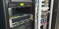Le PNY Lab de la société à Mérignac, dédié à l'intelligence artificielle