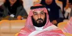 Le prince héritier saoudien Mohammed bin Salman bin Abdul Aziz a dîné en tête à tête avec Emmanuel Macron au Louvre