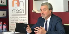 Me Jean-Michel Devisia, président de l'Asssociation pour le maintien d'une cour d'appel de plein exercice à Nîmes