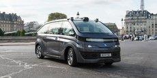 Autonom Cab a obtenu l'autorisation de circulation à Paris.
