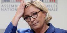 La présidente du RN Marine Le Pen.