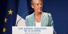 Il faut prendre un petit peu de temps, a expliqué la ministre des Transports Elisabeth Borne aux élus du Grand Ouest