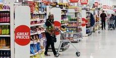 En octobre, les prix de l'alimentation ont bondi de 4,2% sur un an, leur plus haut niveau depuis quatre ans.