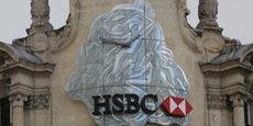 Le siège de HSBC à Paris.