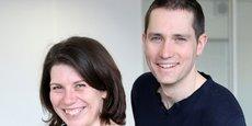Caroline Clabeau et Loïc Romat - Agence événementielle Smile Evénements