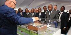 C'est le premier ministre Amadou Gon Coulibaly qui a lancé les travaux ce samedi pour une durée de 12 mois et un coût estimé à quelques 42 milliards de Fcfa