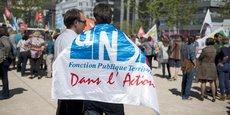 L'UNSA, FO et Sud ont en partie ratifié le document présenté par la région. Photo d'illustration prise lors de la grève d'avril 2017.