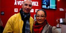 Pascal Arnoux et Myriam Criquet de l'association Montpel'libre