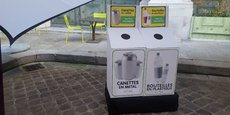 1400 bacs plus petits permettant de trier canettes en métal et bouteilles en plastique seront aussi installés avant la fin de 2019 dans des magasins de restauration rapide et dans les aéroports de Paris.