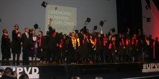 Une quarantaine d'étudiants ont reçu leur diplôme au cours de cette 5e cérémonie annuelle