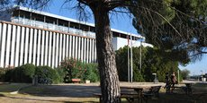 Le site actuel de Montpellier Business School, dans le quartier d'Alco