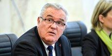 Jean-Marie Darmian, vice-président (PS) du département de la Gironde en charge des finances