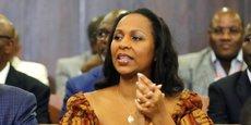 Yasmina Ouegnin, députée à l'Assemblée nationale de Côte d'Ivoire.