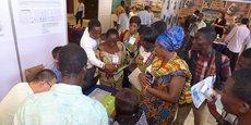 Lors de l'édition 2015 du salon Agrofood et plastprintpack, organisée au centre international de conférences d'Accra, la capitale du Ghana.