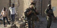 Des éléments de la force Barkhane déployée par l'Armée française dans le Sahel.