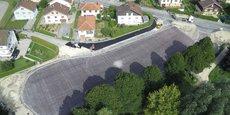 Eurovia a crée un revêtement qui parvient à déneiger les routes grâce à l'énergie solaire