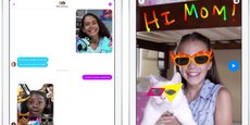 Lancée lundi, l'application Messenger Kids de Facebook s'adresse aux 6-12 ans.