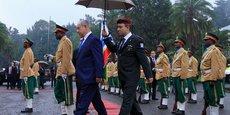 Le Premier ministre israélien Benjamin Netanyahu, lors d'une visite officielle en Ethiopie en juin 2016.