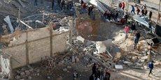 FRAPPES DE REPRÉSAILLES D'ISRAËL SUR LA BANDE DE GAZA
