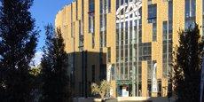 L'entrée du CA Center, au sein de l'@7 Center à Montpellier