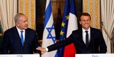 MACRON APPELLE ISRAËL À FAIRE UN GESTE SUR LES COLONIES