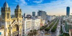 Cette loi de finances vise notamment à maîtriser le déficit budgétaire en le confinant à 4,9% en 2018. Ici une vue de Tunis, la capitale tunisienne.