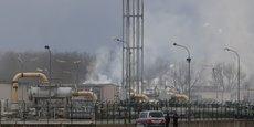 EXPLOSION DANS UN TERMINAL GAZIER EN AUTRICHE, UN MORT