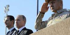 LA RUSSIE MAINTIENT SES BASES EN SYRIE FACE AU TERRORISME