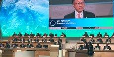 Le président de la Banque mondiale, Jim Yong Kim, au One Planet Summit ce mardi.