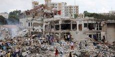Le 14 octobre 2017, un attentat au camion piégé dans la capitale somalienne Mogadiscio, el plus meurtrier de l'histoire du pays, a fait 512 morts et plus de 300 blessés.