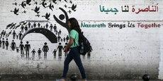 NAZARETH PROTESTE CONTRE LA DÉCISION DE TRUMP SUR JÉRUSALEM
