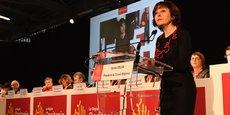 La présidente de Région, Carole Delga, lors de l'assemblée plénière du 21 décembre
