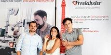 Innovation : Freelabster démocratise l'impression 3D