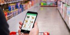 L'application Yuka permet de scanner les aliments, accompagnés d'un code couleur allant du rouge (mauvais) au vert clair (excellent).