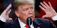 Lé président américain Donald Trump se débat depuis son arrivée à la Maison blanche dans les méandres de l'affaire russe.