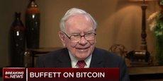 Je peux dire presque avec une quasi certitude que les cryptomonnaies en général vont mal finir a déclaré le deuxième homme le plus riche du monde, Warren Buffett, sur CNBC qui lui demandait s'il possédait des bitcoins.