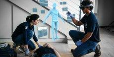 L'outil Nomadeec, développé par Asobo Studio et Exelus, met la réalité mixte au service des professionnels de santé.