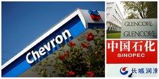 Le duel entre Glencore et Sinopec pour le rachat de la filiale sud-africaine de Chevron vise à mettre la main sur la raffinerie du Cap